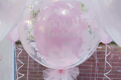 Pretty-pink-bubble-balloons