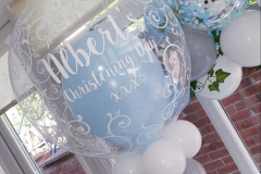 Stunning-blue-christening-bubble-balloons